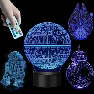 3D Lamp with 7 Colors - Balma Home