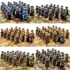 21PCs/set WWII Army Military Building Blocks German France Italy Japan Britain - Balma Home